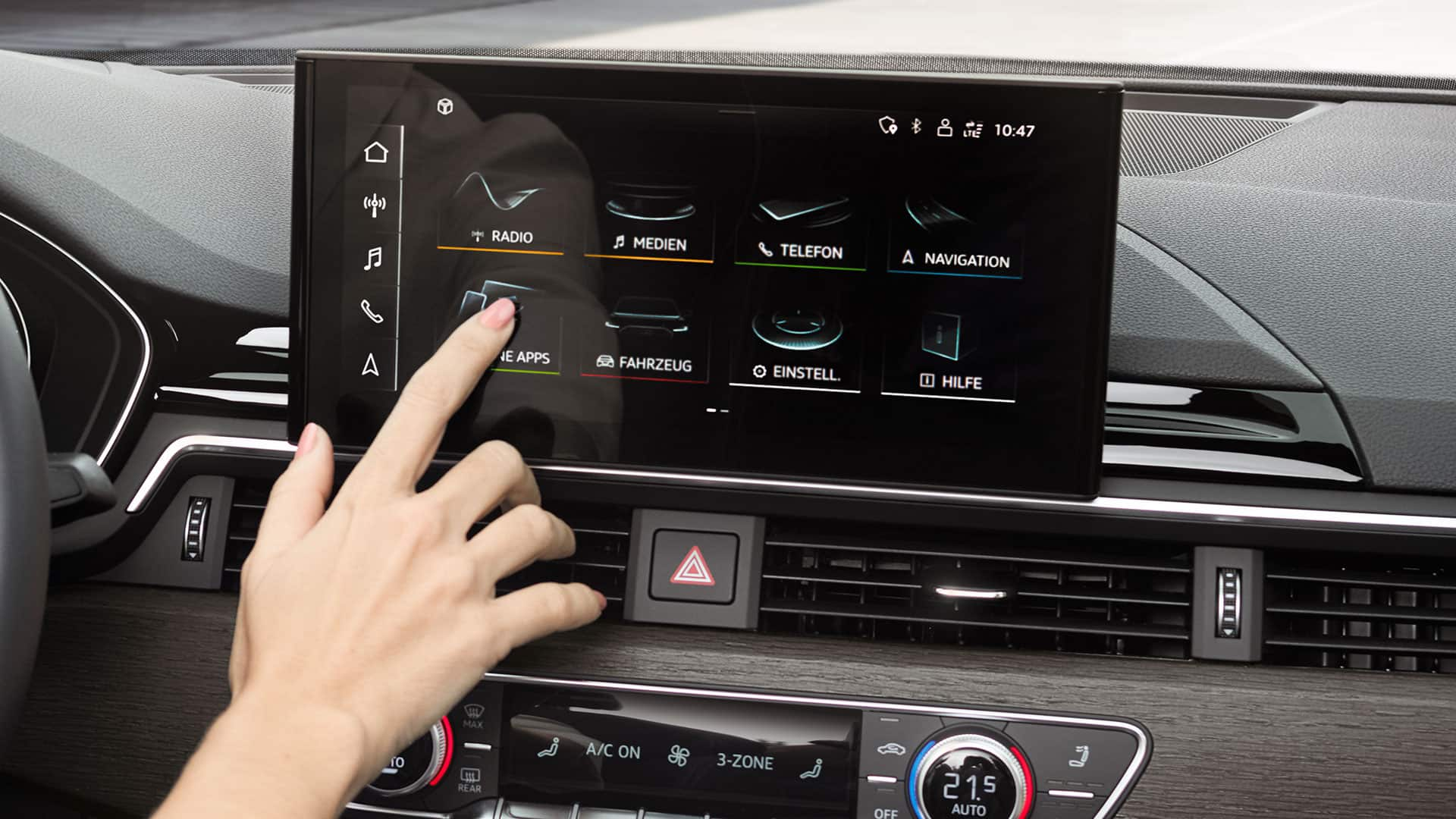 MMI touch display su Audi A5 Sportback