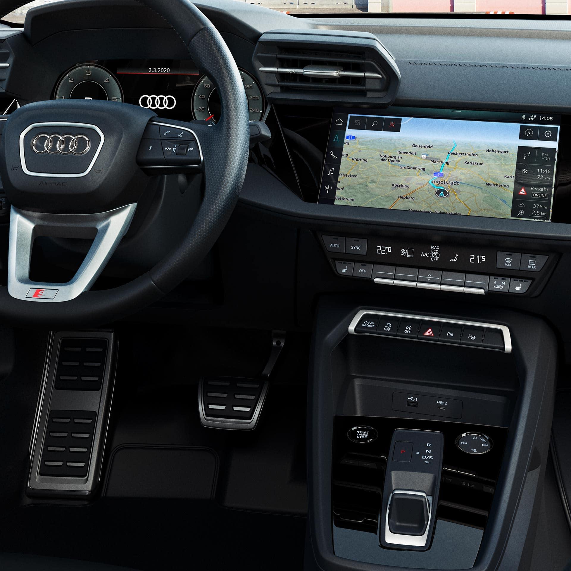 Nuova Audi A3 Sportback Baiauto