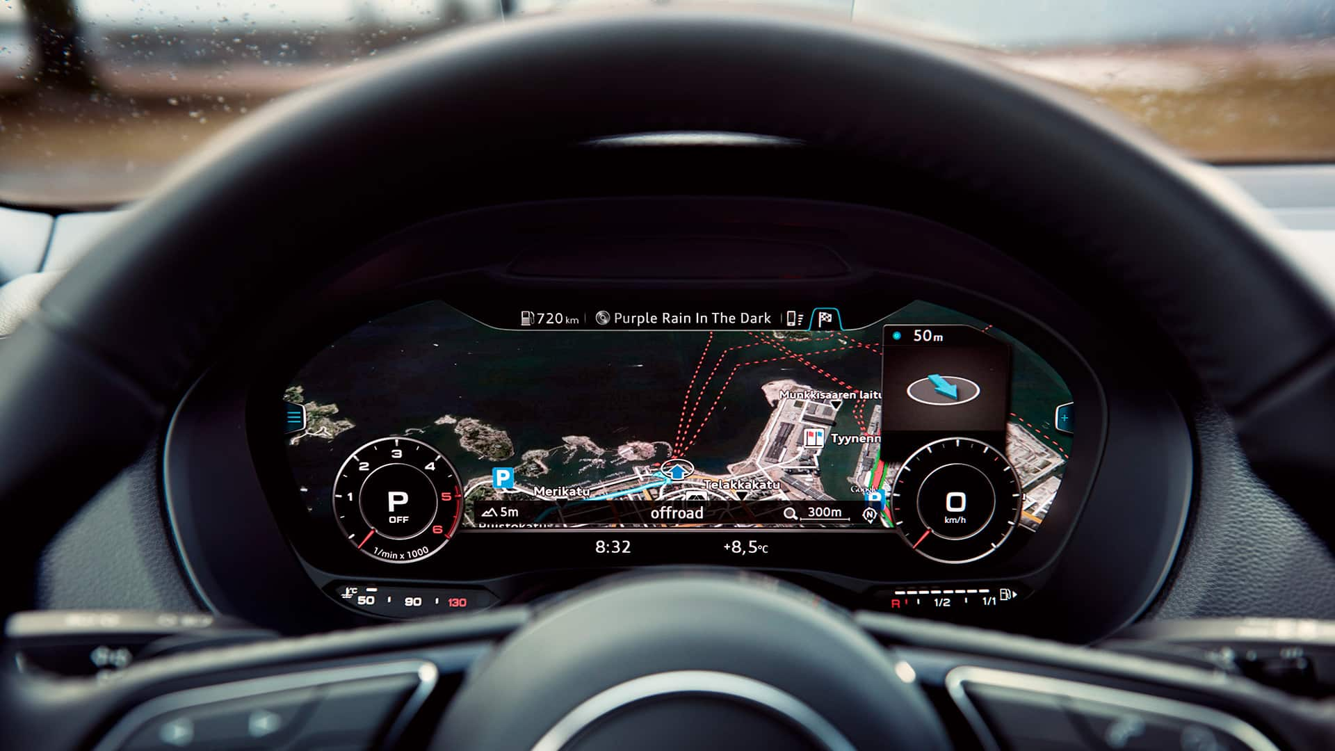 operating concept and infotainment