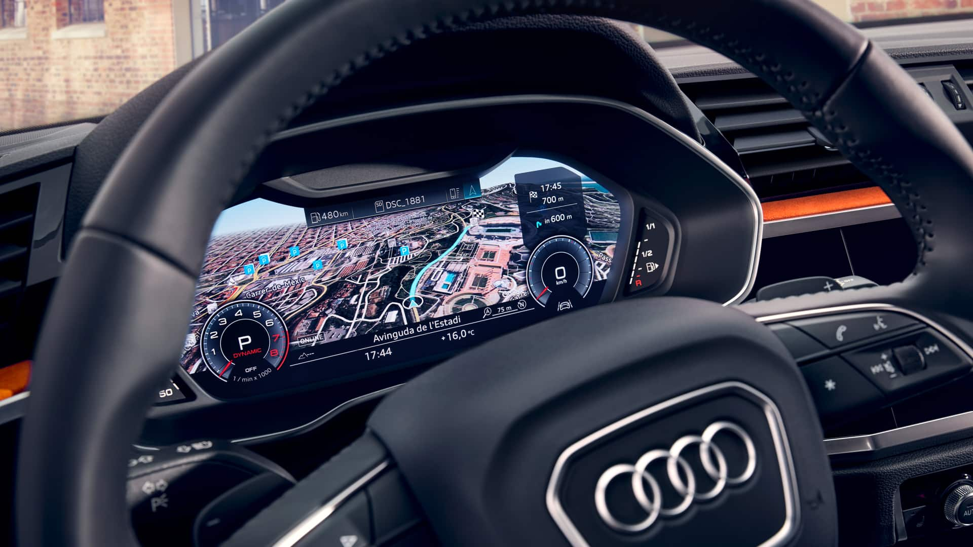 infotainment nuova Audi Q3