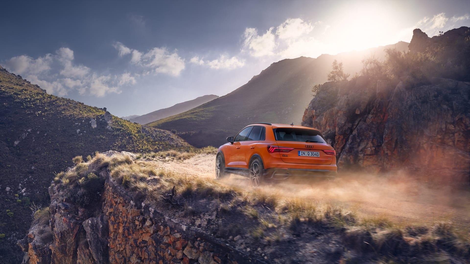 La dinamica di guida della nuova Audi Q3