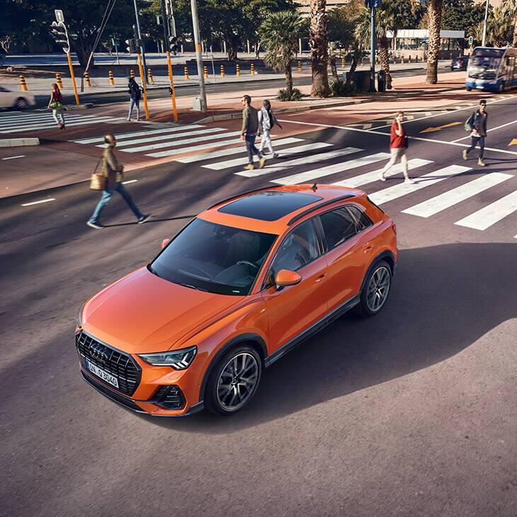 I sistemi di assistenza della nuova Audi Q3